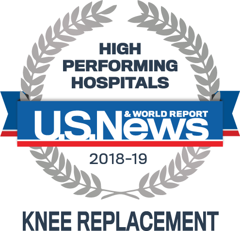 Top Recognition for Knee Replacement - The CORE Institute
